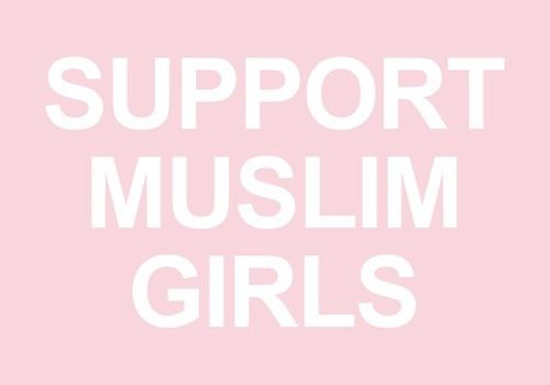 ⚡️✨✨ support muslim girls ✨✨⚡️