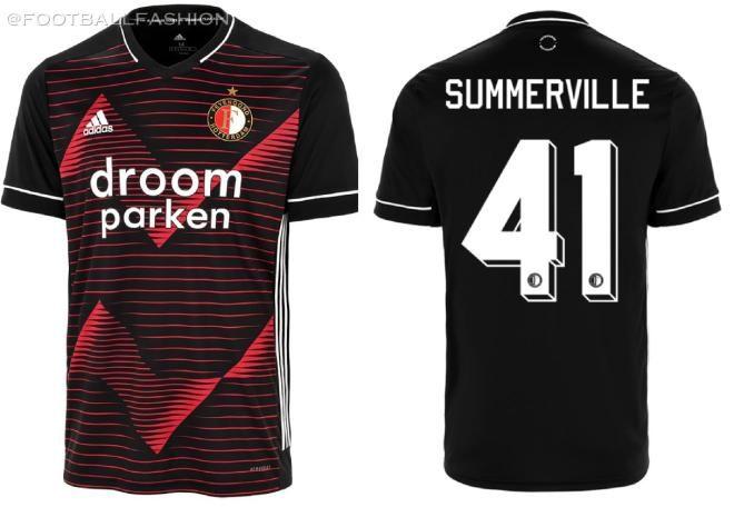 Feyenoord Rotterdam 2020/21 adidas Away Kit - FOOTBALL FASHION ...