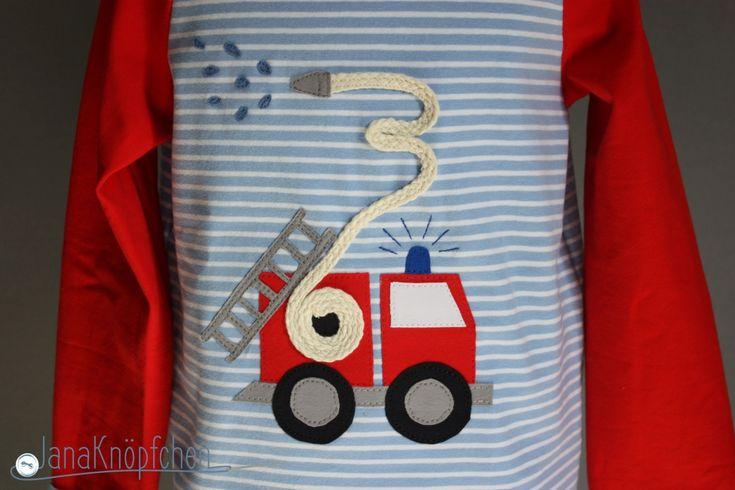 Zum Geburtstag ein Feuerwehrshirt – Feuerwehrfan