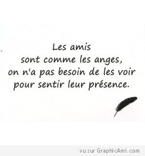 Citation sur l'Amitié! Friendship quote! Aline ♥
