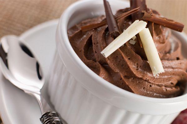 Παγωτό μους σοκολάτα | InfoKids