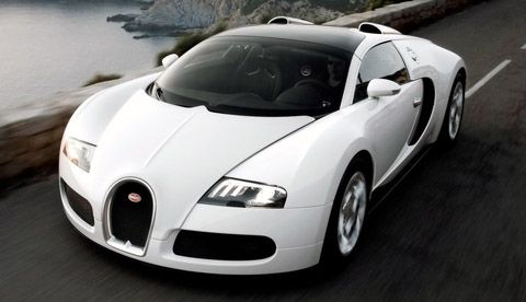 Bugatti Veyron Super Sports $2,400,000. This is by far the most expensive street legal car available on the market today (the base Veyron costs $1,700,000). It is the fastest accelerating car reaching 0-60 in 2.5 seconds.