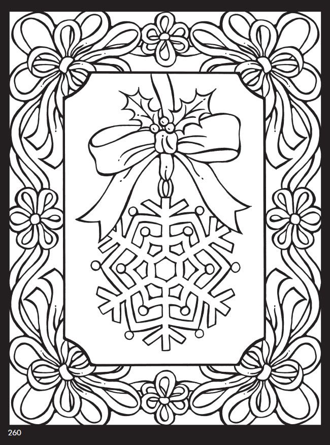 Welcome to Dover Publications--Giant Christmas Coloring and Activity Book