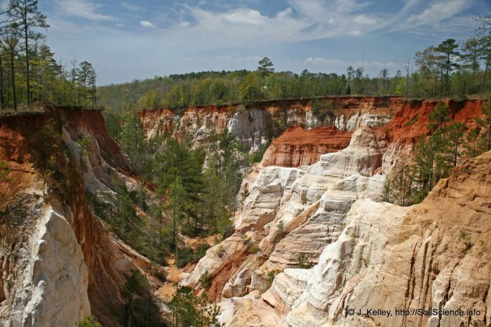 Providence Canyon State Park & a bunch of other beautiful places to hike - all in Georgia!