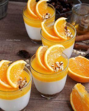 FIT serniczki na zimno z żelką pomarańczową
