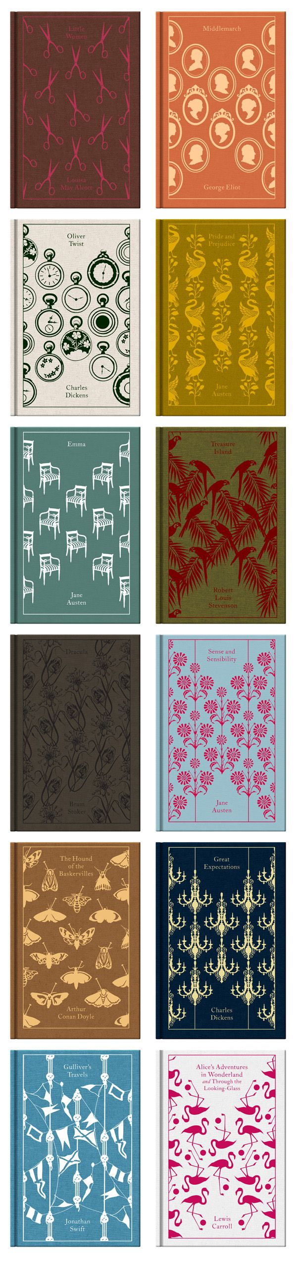Penguin Classics - beautiful clothbound classic children's stories