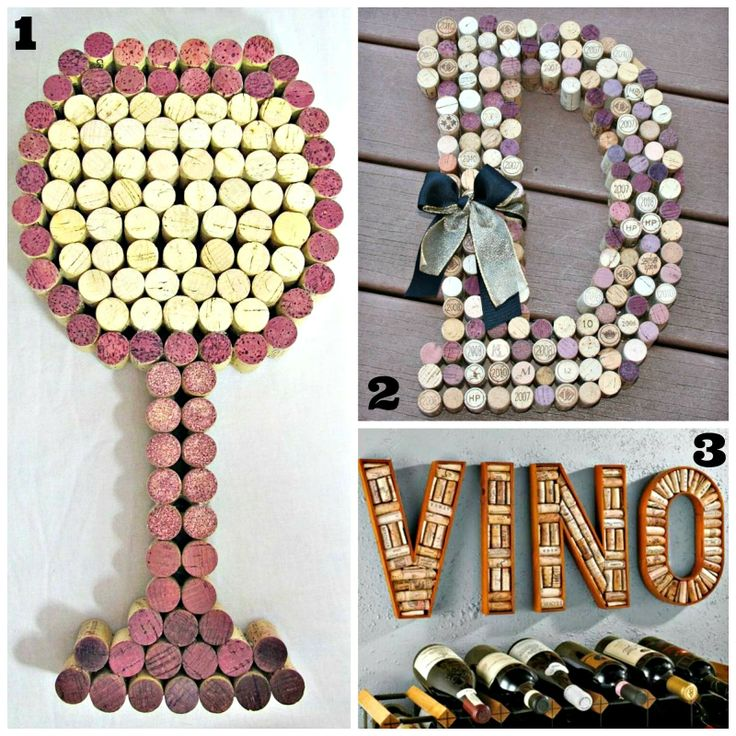 Collection of Wine Cork DIY Projects