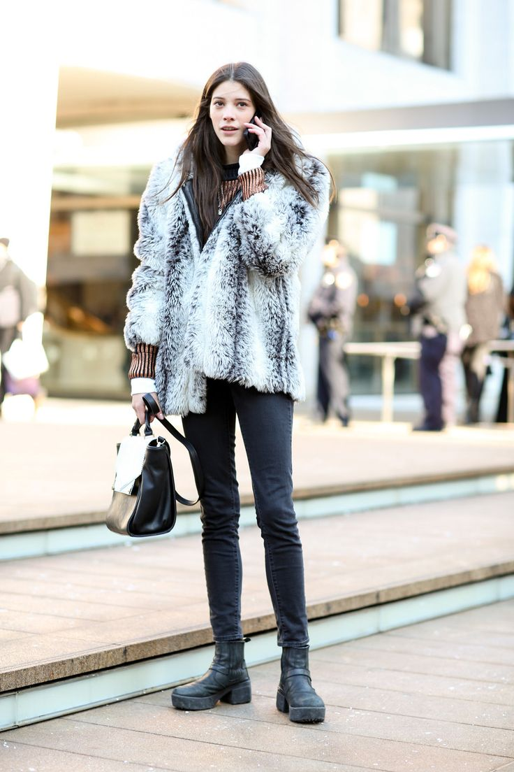 2014 urban fashion trends for women - Carla Ciffoni Model Off Duty Street Style