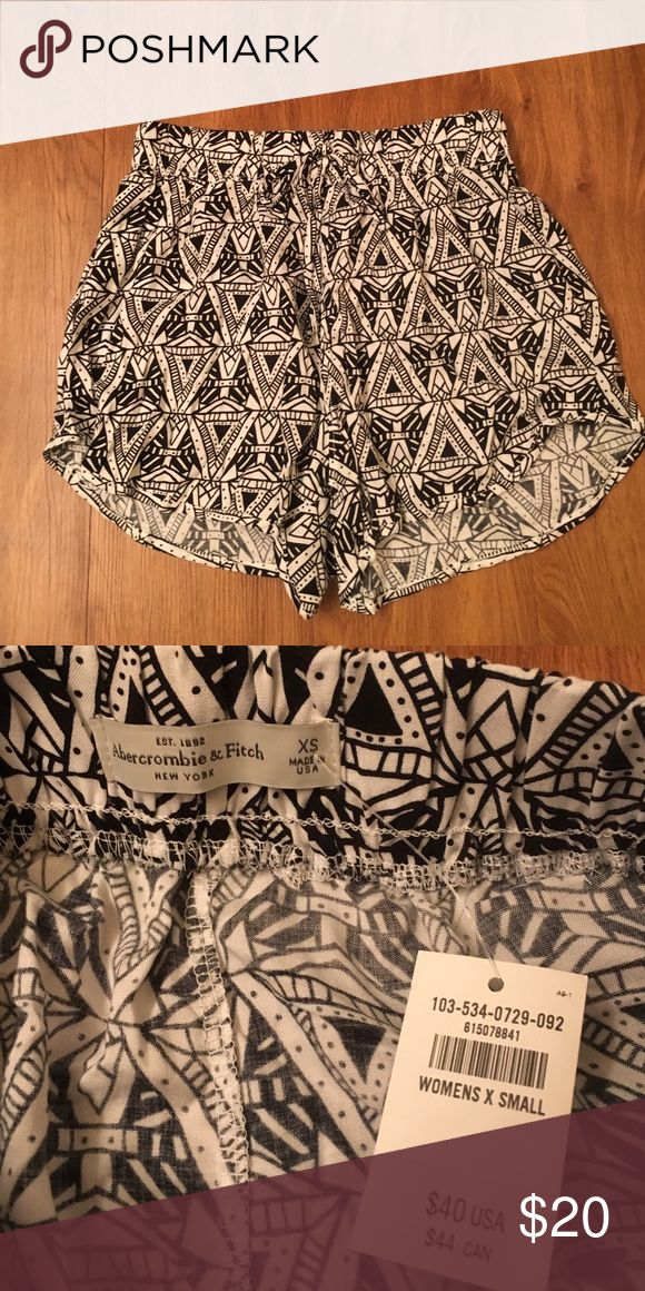 NWT Abercrombie and Fitch shorts NWT Abercrombie and Fitch tribal shorts Abercrombie & Fitch Shorts