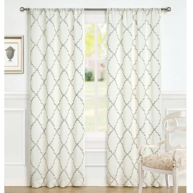 product image for Laura Ashley® Windsor 96-Inch Window Curtain Panel Pair