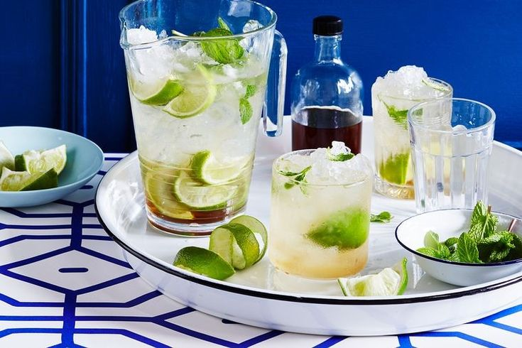 If a hair of the dog cocktail is the only way to make it through the morning, avoid a sugar crash and try this Mojito recipe which is also low in kilojoules. The recipe is also perfect for Christmas parties and is even safe for little ones to get their hands on.