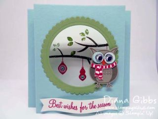 Cozy Critters Mimeograph Monday & More Diana Gibbs Stampin' Up!