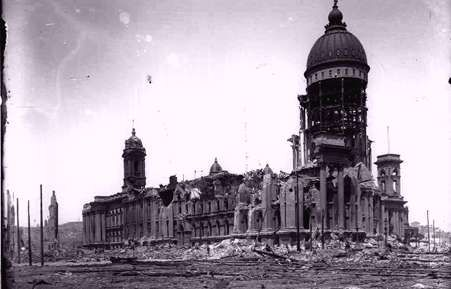 Aftermath of the 1906 San Francisco earthquake