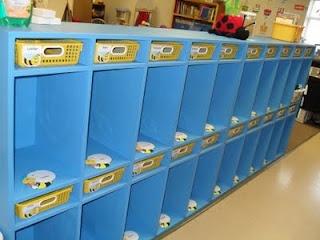 Mrs. Boyeru0027s Busy Bees: Book Bag Storage