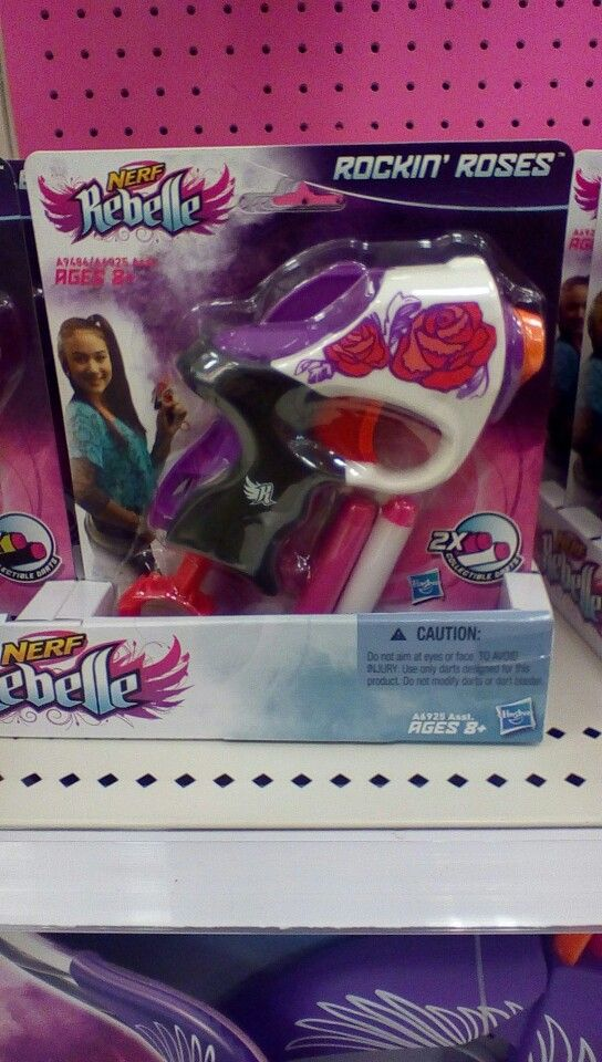really awesome nerf rebell gun