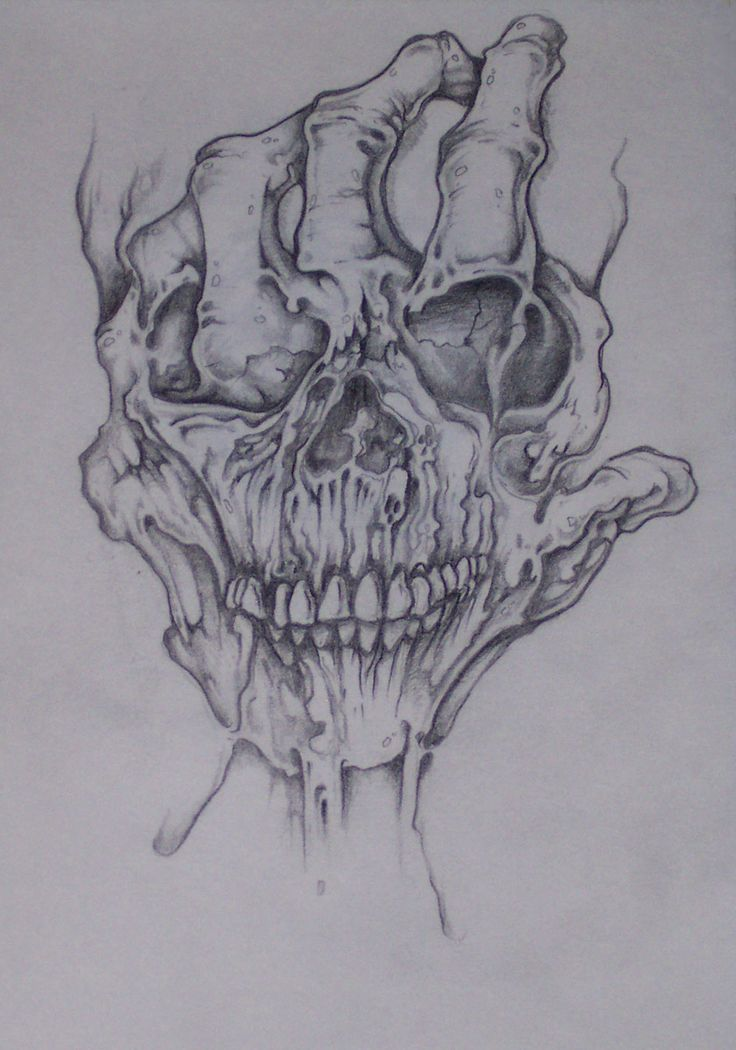 Evil Skull Art - Bing Images | Skulls and Bones Art | Pinterest ...