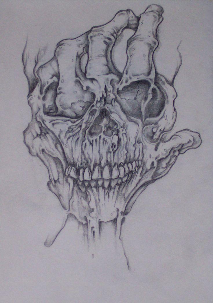 Tatto Crazy Art Ideas: Evil Skull Art - Bing Images