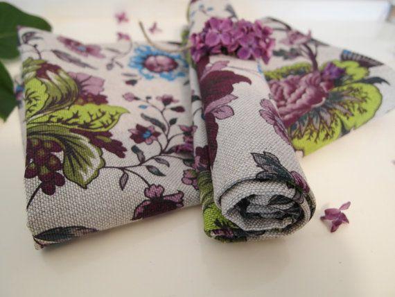 2 Geschirrtücher Küchenhandtücher Handtucher von TextilesHomeDecor