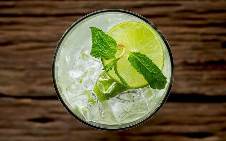 Schade, dass die meisten Cocktails schlimme Kalorienbomben sind. Dieser hier allerdings nicht!