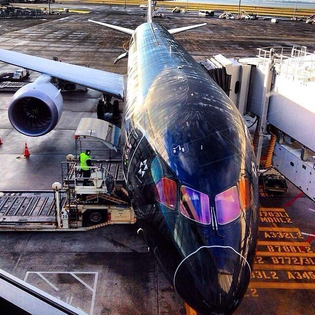 Air New Zealand Boeing 787-900 Dreamliner, Auckland International Airport