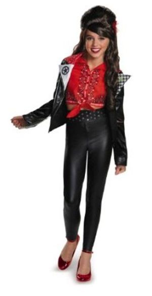 New Teen Beach costumes! Prestige McKenzie Biker Kid's / Tween Costume @ officialprincesscostumes.com #teenbeach