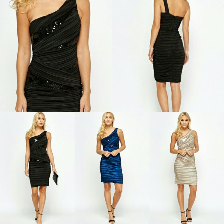 Available now for a Limited Time to our Facebook Fans ONLY!  Not on our website.    Sequin Ruched Bodycon Dress in Black, Royal Blue or Beige.   ONLY £15 + £2.50 p&p. Usually £29.99!  Available in sizes Small (UK 8), Medium (UK 10) and Large (UK 12).   Inbox for details of how to order.   www.Facebook.com/fashions4u.uk