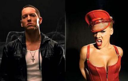 p!nk and Eminem | ... カムズ ザ ウィークエンド ft エミネム p nk 来る わ