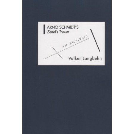 Arno Schmidt's Zettel's Traum