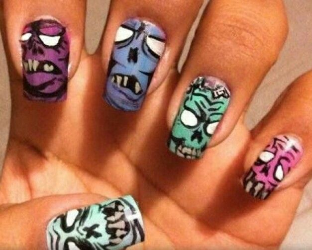 33 best ♡ 420 Nails.♡ images on Pinterest | Weed nails, Nail art ...