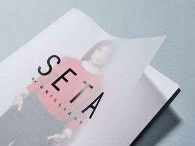 SETA - Catalog Cover by Ivaylo Nedkov for FourPlus Studio