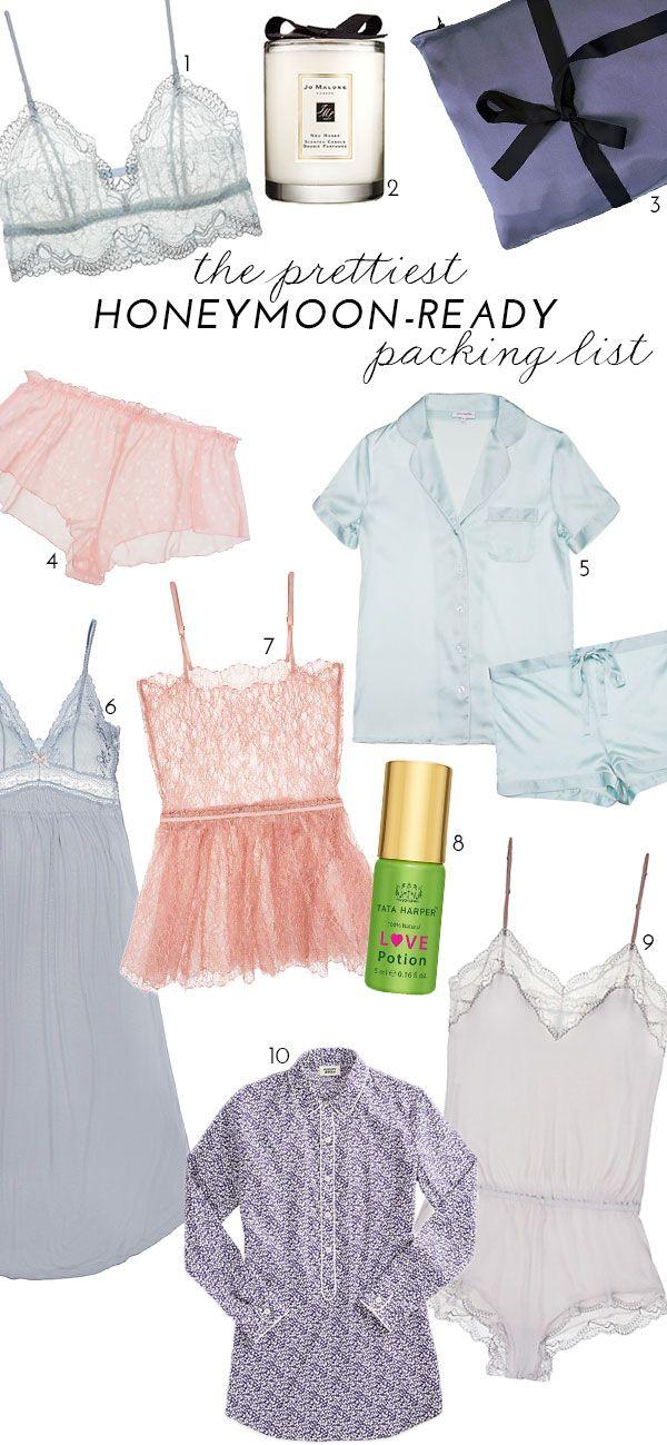 The Prettiest Honeymoon-Ready Packing List | theglitterguide.com