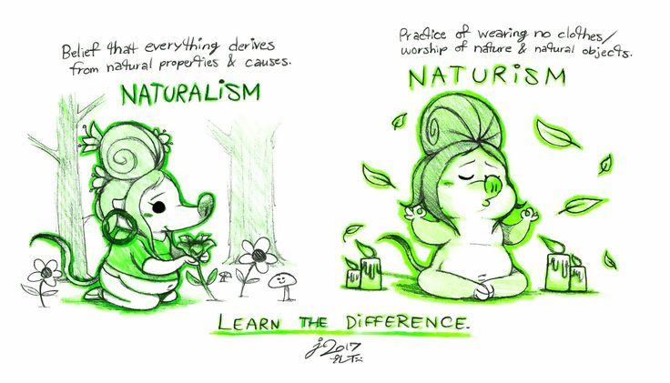 Who else but Fru Fru (Zootopia) to show you the difference between Naturalism & *Naturism?