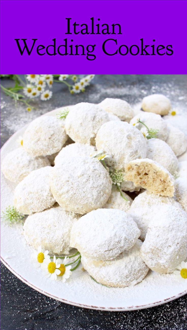Italian Wedding Cookies Recipe | CiaoFlorentina.com @CiaoFlorentina.com
