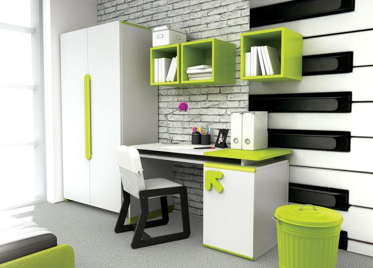 New Study Kids Room 5 Items | Modern Children's Furniture Set LIMO