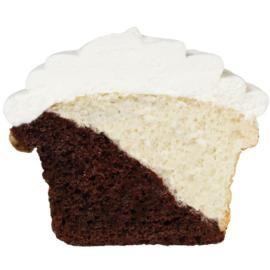 Diagonal Cupcake Colors