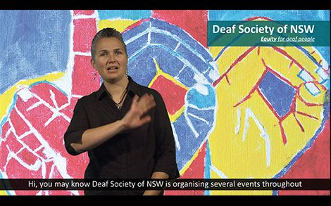 The Deaf Society of NSW - learn the basics of AUSLAN