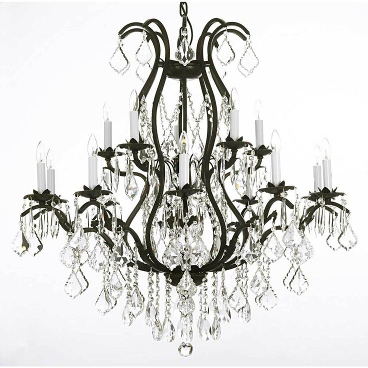 18 best Chandelier\'s images on Pinterest | Crystal chandeliers ...