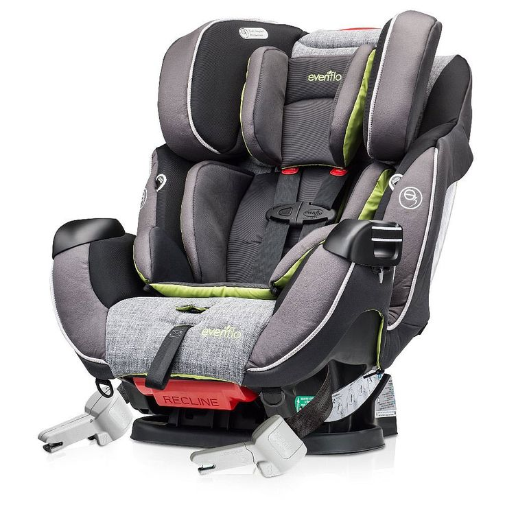 """Evenflo Symphony DLX Platinum Protection Series All in One Car Seat - Tennison - Evenflo - Babies""""R""""Us"""