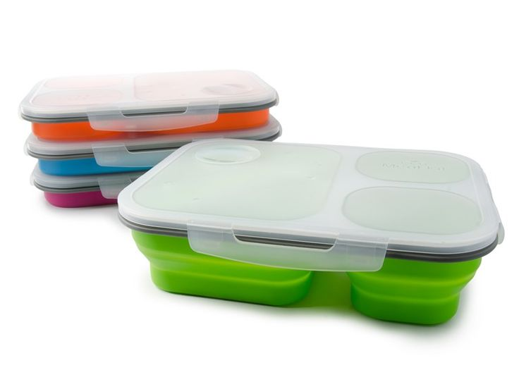 Smart Planet Three Compartment Lunch Box - I've got the green one :)