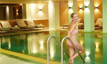 Indoor Pool im Hotel Allgäu Sonne