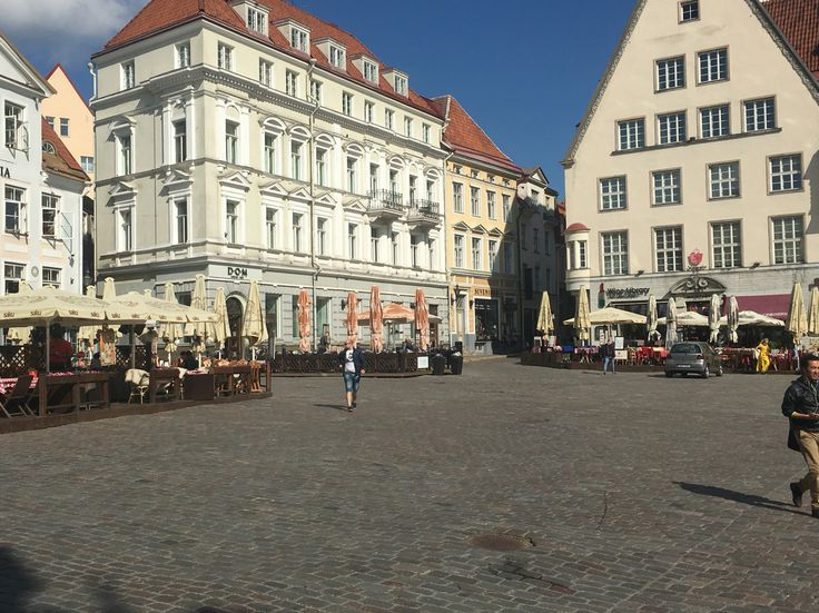 Town square! Tallinn, Estonia
