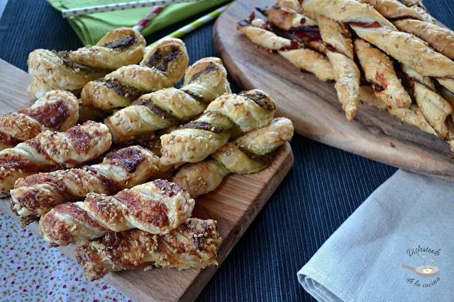 Deliciosa receta de Lazos de hojaldre de Disfrutando de la Cocina