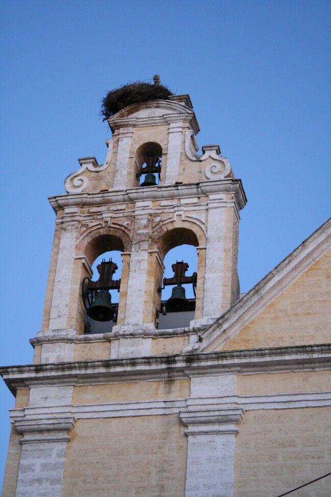Campanario Iglesia Conventual de Nuestra del Carmen, San Fernando, Cádiz