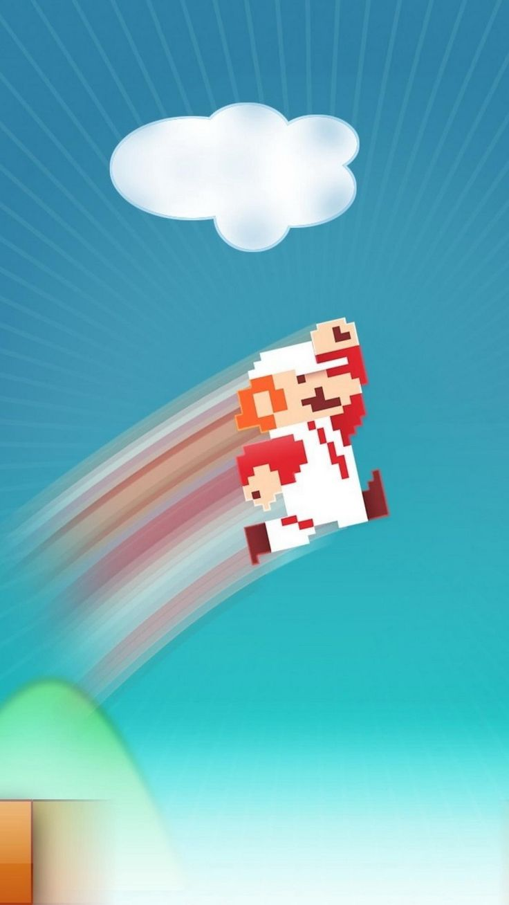 Wallpaper iphone mario bross - Super Mario Find More Nerdy Iphone Android Wallpapers And Backgrounds