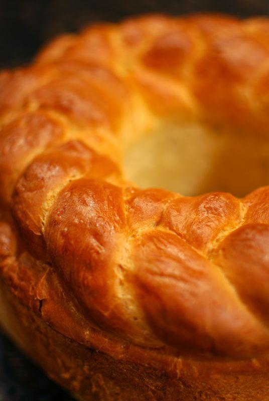 Kolach ~ Ukrainian Christmas Bread