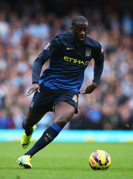 El ciudadanoYaya Toure en favor del Manchester City.
