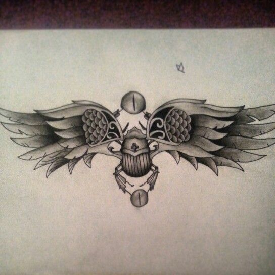 scarab beetle egyptian tattoo sketch tats pinterest tattoo sketches quotes and wings. Black Bedroom Furniture Sets. Home Design Ideas