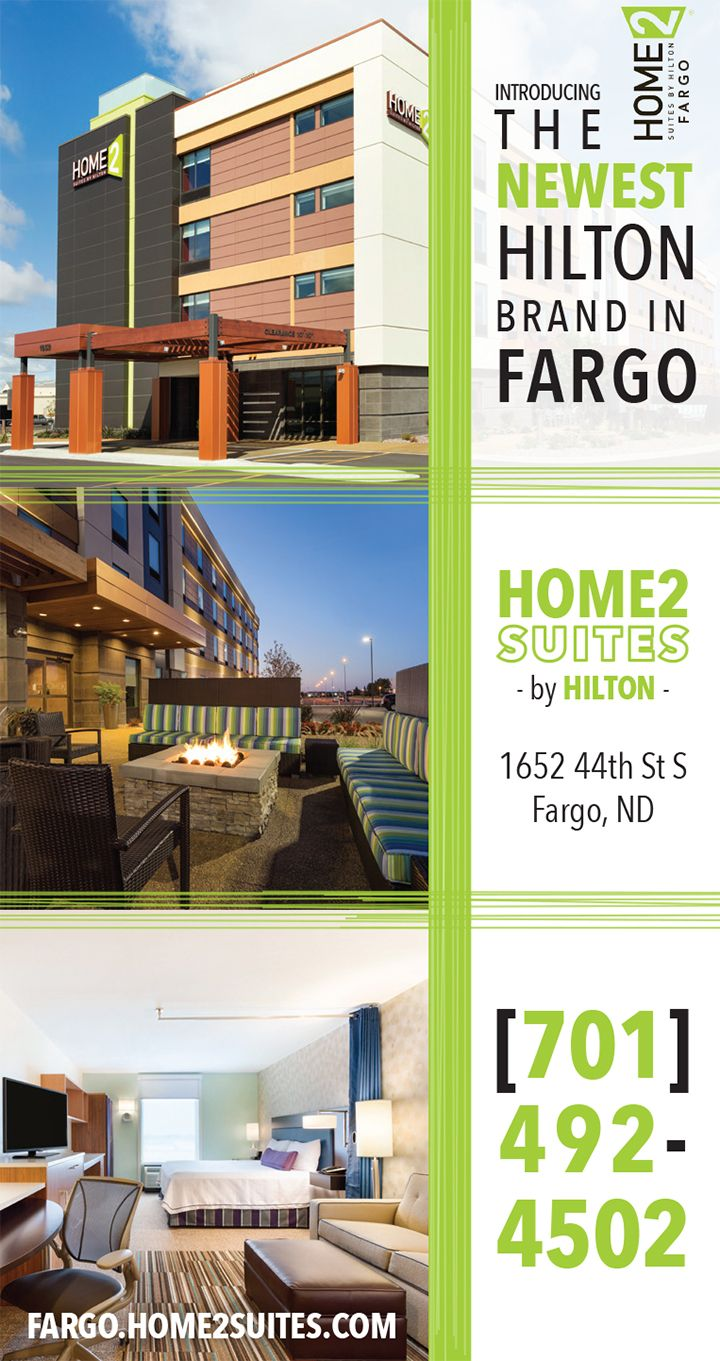 The Newest Hilton Worldwide Brand! 🎌 #Home2Suites #Hilton #Fargo