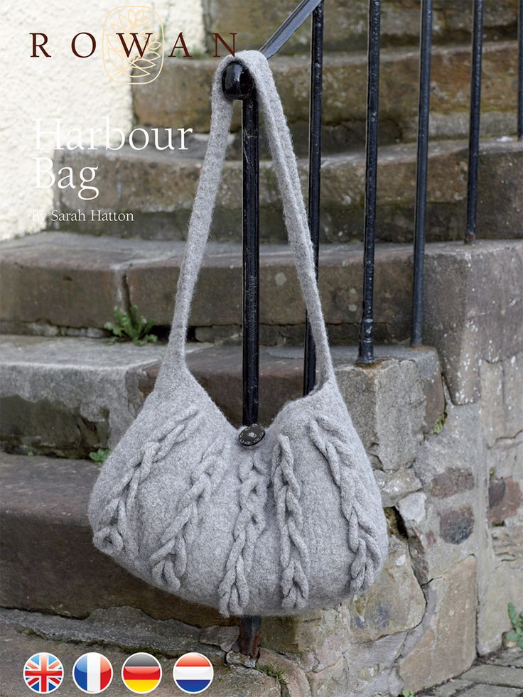 104 best Knitted Purse & Bag Patterns images on Pinterest | Knit bag ...