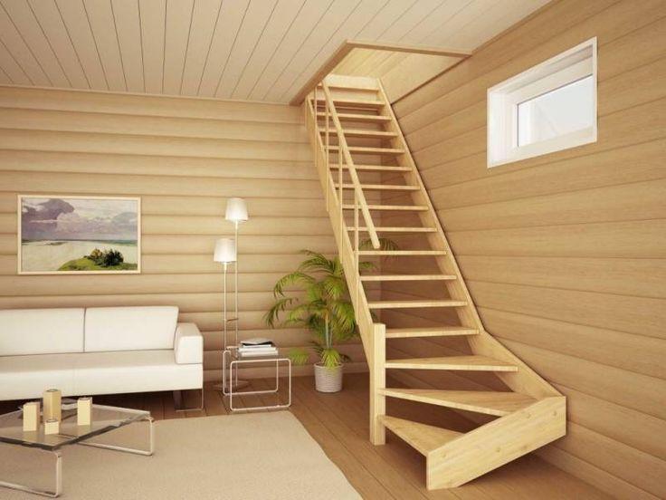 Из какого дерева сделать лестницу в доме